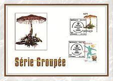 MONACO CEF PREMIER JOUR 2002 TIMBRE   N° 2372 . 2378 SERIE GROUPEE SPORT FLEURS