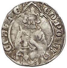 ANGLO-GALLIC. Edward the Black Prince, 1362-72, Hardi d'Argent, La Rochelle mint