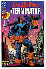 Deathstroke The Terminator #1 Nm/M Dc Comics New 1991 A1