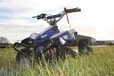50cc Quad Bicicleta Azul asesino Mini Off Road gasolina 2 tiempos niños Garantía 49cc