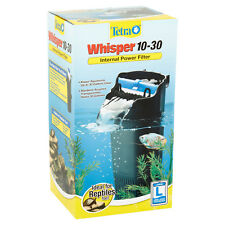 Tetra Whisper Internal Power FILTER 10-30 Aquarium IDEAL FOR REPTILES TOO! New