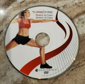 TURBO FIRE - Chalene Johnson - STRETCH 40, STRETCH 10 - DVD Replacement Disc