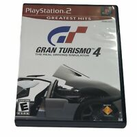 Gran Turismo 4 (PlayStation 2, 2005) Complete Tested Works