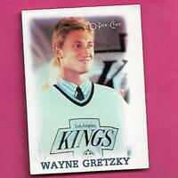 1988-89 OPC # 11 KINGS WAYNE GRETZKY GOOD  MINI CARD (INV# C8281)