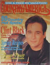 CLINT BLACK April 1993 COUNTRY AMERICA Magazine