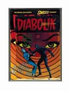 Diabolik Swiisss 159 with Holographic Postcard