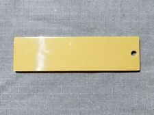 Lot of Three Check Source for Geiger Counter, 1g  (Thorium Ore) Acrylic Bookmark