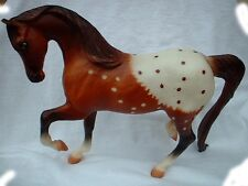 "Breyer Reeves American Appaloosa Horse Dated 1986 Toy Classic Sized 9"" x 7"""