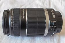 Objectif Canon Zoom EF-S 55-250MM F/4-5.6 IS comme neuf