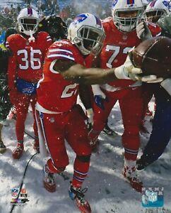Lesean McCoy 8x10 photo Buffalo Bills Kansas City Chiefs Snow Game