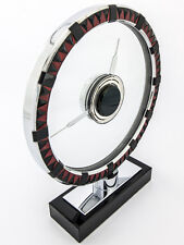 LeCoultre Tischuhr im Bauhaus Stil, Mysteriös, Art Déco, 40er Jahre