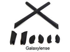 Galaxy Earsocks & Nose Pads Rubber Kits For Oakley Half Jacket XLJ Black
