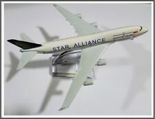 BOEING 747 SINGAPORE AIRLINE AEROPLANE METAL PLANE MODEL DIECAST GIFT TOY