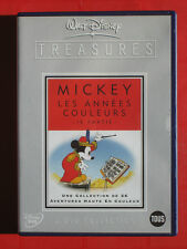 MICKEY ET LES ANNÉES COULEURS TREASURES 2 dvd collection Disney