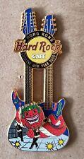 HARD ROCK CAFE HONG KONG CHINESE NEW YEAR GUITAR PIN 2005