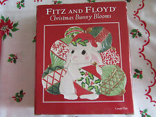 *New In Box*Fitz And Floyd Christmas Bunny Blooms Platter~Canape Plate~ Cute!