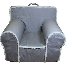 Insert For Anywhere Chair & Grey Cream Sherpa Cover Regular Size