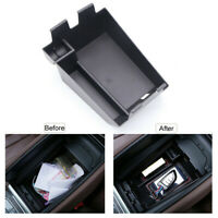 Organizer Car Storage Box Black For BMW X5 G05 2019-2020 Practical Durable
