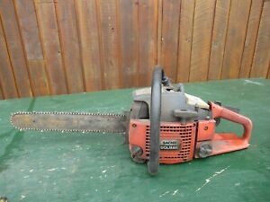 "Vintage SACHS DOLMAR Chainsaw Chain Saw with 14"" Bar with Log Spike"