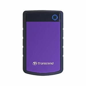 Transcend 2 TB StoreJet 25H3, 2.5 Inch, USB 3.1, Shock Resistent, Portable