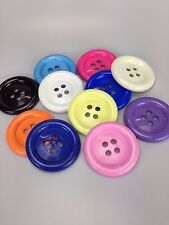 Extra Large Clown Buttons Size 100  - 63mm Diameter - Colour Choice - Free Post