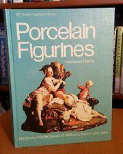 Porcelain Figurines by Nathaniel Harris 1974 Hardcover Book Golden Press VTG