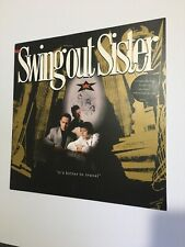 "SWING OUT SISTER LP  It's better to travel   UK VINYL LP OUTLP1 12"" Record"