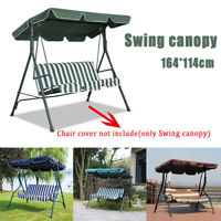 Replacement Canopy For Swing Seat 3 Seater Sizes Garden Hammock Cover