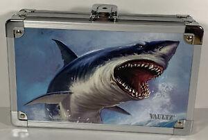Vaultz 3D Great White Shark Lock Box Pencil Holder NO KEY