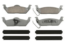 Advance QC1012A Disc Brake Pad - ThermoQuiet, Rear