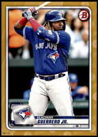 Vladimir Guerrero Jr. 2020 Bowman 5x7 Gold #50 /10 Blue Jays