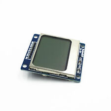 LCD 5110 Blue Backlight Nokia 5110 LCD Module with Adapter PCB for Arduino