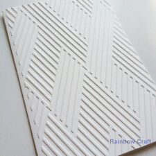 5 Embossed Cards & Envelopes Weave Wedding invitations party invitations