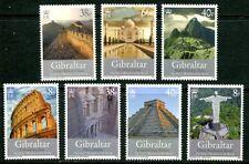 GIBRALTAR 2008 NEW 7 WONDERS OF THE WORLD - TAJ MAHAL - MACHU PICCHU - PYRAMIDS!