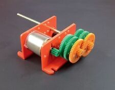 Multi Ratio motor gearbox 917d kit form models 1.5 - 3 volt school project robot