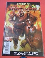 The Invincible IRON MAN #16 -World's Most Wanted - bagged 2008