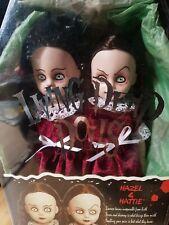 Horror dolls  Living dead dolls hazel and Hattie dolls New