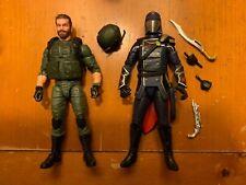 G.I. Joe classified Breaker Cobra Commander lot set without bike