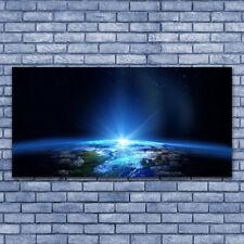 Glasbilder Wandbild Druck auf Glas 140x70 Abstrakt Weltall