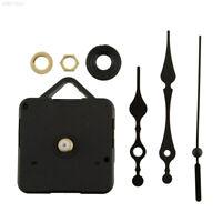 64A9 Simple Design All Black Hands Clock Movement Mechanism Repair Parts Short