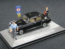 Faller Mercedes-Benz 220 S (Ponton) 1:43  Taxi, Diorama (JS)
