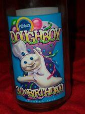 "Pillsbury Dough boy plastic cup 1995 30th birthday 5 1/2"" tall"