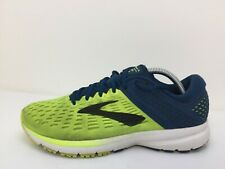 Brooks Ravenna 9 Blue Knit Running Trainers Gym Sports Shoes Men Size UK 8