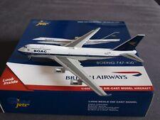 British Airways B747-400 G-BYGC BOAC Retro Livery Gemini Model 1:400 GJBAW1838