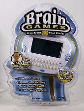 Radica Brain Games Electronic Handheld Game Toy Mind Think Challenge Travel