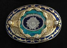 Mason Masonic Freemason Belt Buckle - #224