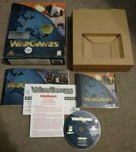 WarGames War Games (1998) MGM Interactive Big Box PC COMPLETE!