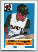 WILLY STARGELL PITTSBURGH PIRATES CUSTOM MADE ART BASEBALL CARD BLANK BACK