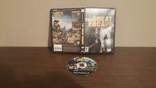 Great Escape (Sony PlayStation 2, 2003) NO MANUAL