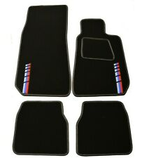 BMW E30 Car Mats - Black Carpet